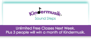 Dallas SoundSteps Kindermusik Free Month Win